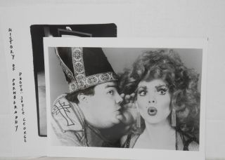"""Three publicity photos from the production of """"The History of Pornography"""""""