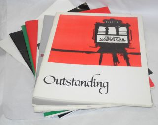 Eight Cable Car Awards & Show programs 1979-1996 [broken run of 15 programs]