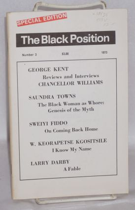 The Black position; number 3, 1973, an annual