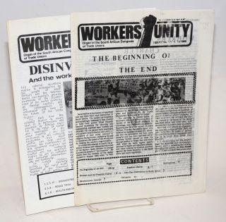 Workers' Unity [two issues