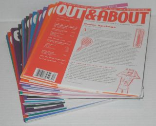 Out & about: essential information for the gay traveler; [52 issue broken run, December 1992 - May 2001]