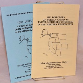 Directory of Korean-American United Methodist Churches in the Western Jurisdiction [two...