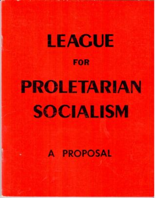 A proposal for Marxist-Leninists at the Western Socialist Social Science Conference
