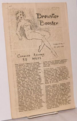 Brewster Booster [four issues of the mimeographed newsletter published aboard the General A. W. Brewster during the Korean War]