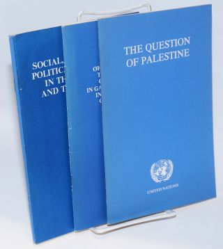 Committee on the Exercise of the Inalienable Rights of the Palestinian People, United Nations [group of 7 pamphlets]