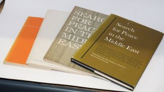 Search for peace in the Middle East: a report prepared for the American Friends Service Committee (Revised Edition) [together with Arabic and Hebrew editions of the report]