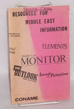 Resources for Middle East information