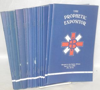 The Prophetic Expositor [15 issues]. Douglas Nesbit.