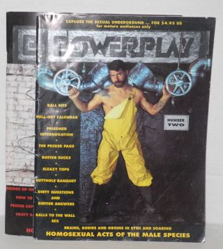 Powerplay: homosexual acts of the male species; vol. 1, issues 1-3