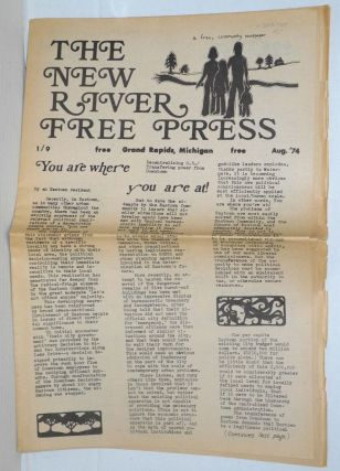 The New River Free Press; a free, community newspaper. [vol] 1 / [no] 9, Aug.'74. Michael Chacko...