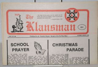 The Klansman Issue 107/108 (Dec-Jan. 1985