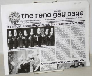 The Reno Gay Page: the gay and lesbian community news source of northern Nevada and the eastern...