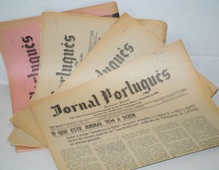 Jornal Português/Portuguese Journal: the only Portuguese newspaper in the Western States ano 27,...