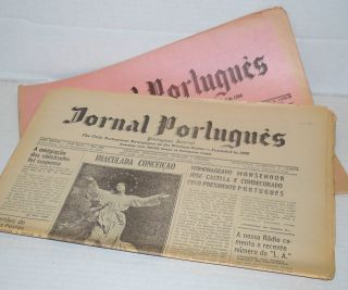 Jornal Português/Portuguese Journal: the only Portuguese newspaper in the Western States ano 27, numbers 117, 119, 120 & 122 Nov-Dec 1959