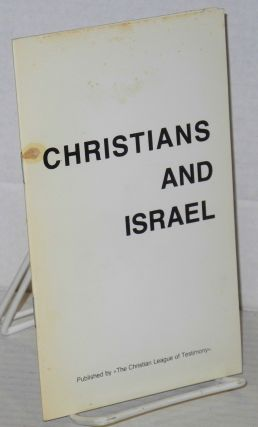 Christians and Israel