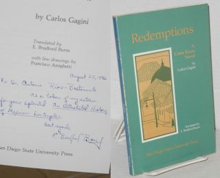 Redemptions: a Costa Rican novel. Carlos Gagini, E. Bradford Burns