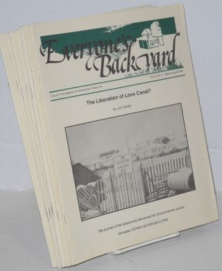 Everyone's backyard: vol. 7, #4, vol. 8, #1-6, vol. 9, #1-3, Winter 1989 - June 1991 [10 issue broken run]