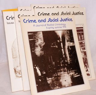Crime and social justice [7 issues