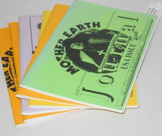 Mother Earth journal: an international quarterly uniting the world through poetry; 16 issue broken run vol. 6 #1 - vol. 12 #4