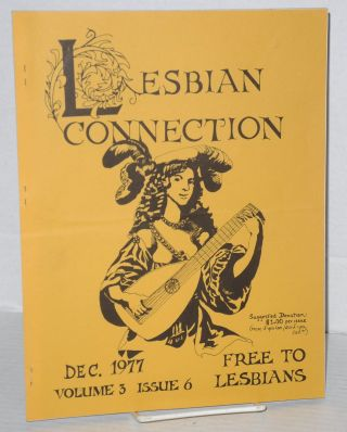 Lesbian Connection: vol. 3, # 6, December 1977