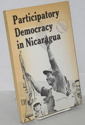 Participatory democracy in Nicaragua