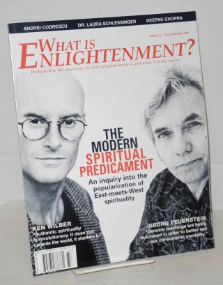 What is Enlightenment? issue 12, Fall/Winter 1997. Andrew Cohen, founder.