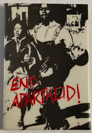 End Apartheid! [pinback button