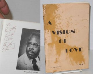 A vision of love. Rev. John S. Corbin Corbin
