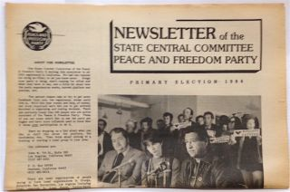Newsletter of the State Central Committee. Primary Election 1984