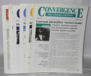 Convergence (5 issues) 1987-1991. Christic Institute