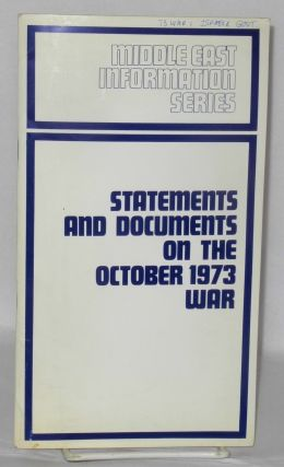 Statements and Documents on the October 1973 War