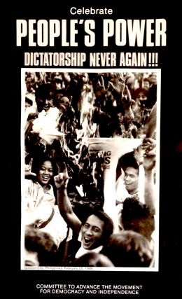 Celebrate people's power / Dictatorship never again!!! [poster]. Committee to Advance the...