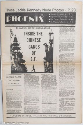 The San Francisco Phoenix: a magazine of news, the arts and informed dissipation; vol. 1, #16,...