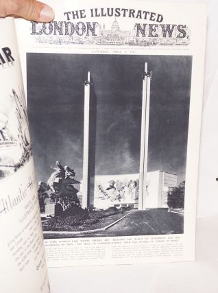 The Illustrated London News. Saturday, April 29, 1939. No. 2714, vol. 104. [New York World's Fair cover story]
