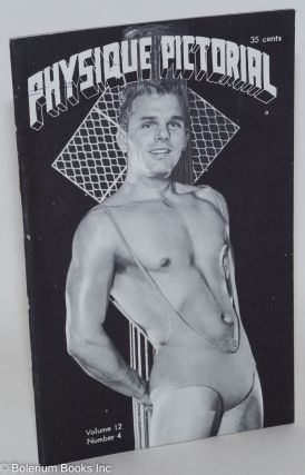 Physique Pictorial vol. 12, #4, May 1963. Bob Mizer, Tom of Finland photographer, Jack Teter,...