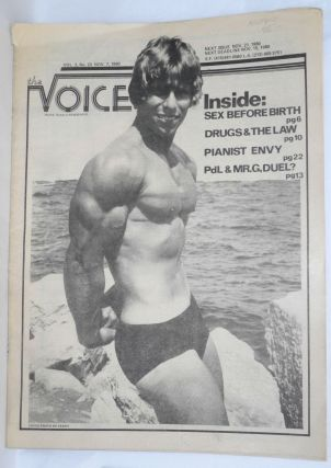 The Voice: more than a newspaper; vol. 2, #23, Nov. 7, 1980. Paul D. Hardman, Quentin Kopp Milton...