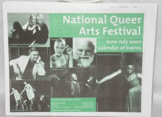 National Queer Arts Festival: June-July 2000, calendar of events