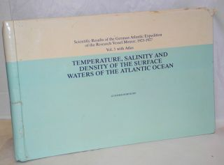 Temperature, Salinity and Density of the Surface Waters of the Atlantic Ocean [Temperatur,...