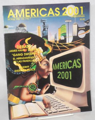 Americas 2001: vol. 1, #7, July/Aug. 1988. Beatrice Echaveste, publisher Roberto Rodriguez