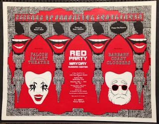 Red Party / Mayday / Russian Center / A dance benefit for the 1982 Gay Olympic Games and Golden...