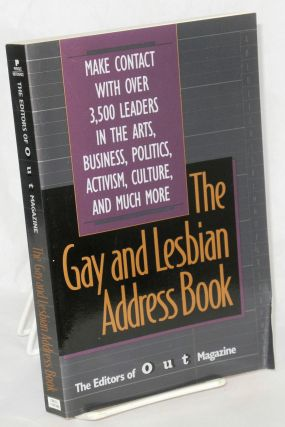The gay and lesbian address book. of Out Magazine