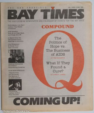 The San Francisco Bay Times/Coming up! the gay/lesbian newspaper and calendar of events for the...