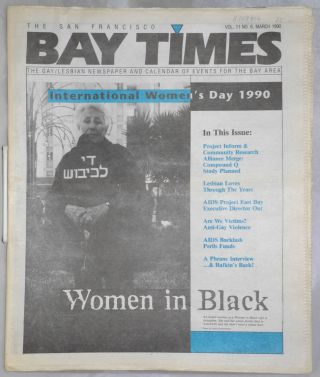 The San Francisco Bay Times: the gay/lesbian newspaper and calendar of events for the Bay Area;...