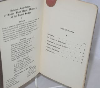Tin Roofer's handbook issued in the interest of good tin roofs