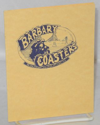 Barbary Coasters Motorcycle Club [invitation card