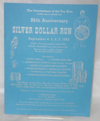 The Constantines of the Bay Area invite you to attend our 25th anniversary Silver Dollar Run...