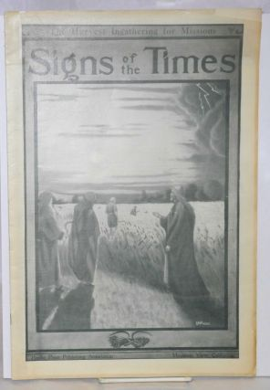 Signs of the times: the Harvest Ingathering for Missions. Vol. 38 nos. 43/44 (October 31, 1911