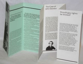 Toward Equality; the homosexual minority in Ontario & Don't Gay People Already Have Full Rights? [Two brochures]