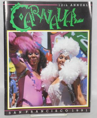 12th Annual Carnaval San Francisco 1991 [souvenir program