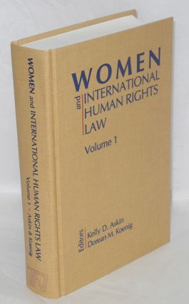 Women and international human rights law. Vol 1: Introduction women's human rights issues. Kelly...